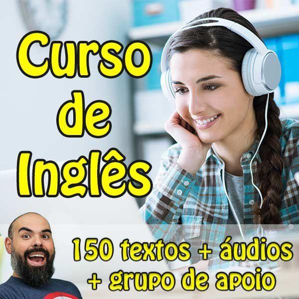 Curso de Inglês - 150 Textos em Inglês - Lateral